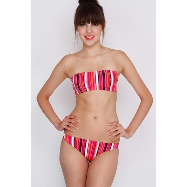 magio bikini 23 - Μαγιό Μπικίνι Alcott Στράπλες Ριγέ Κωδ. 1584413