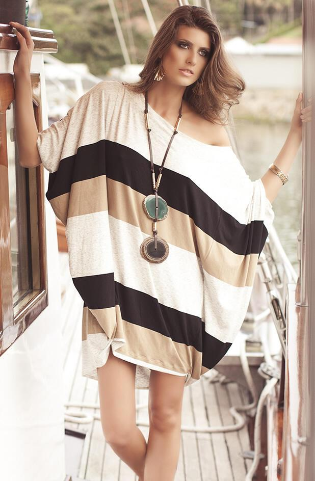 rouxa thalasis 19 - Ρουχα Θαλασσης 2011 Tunic Stripes Tunic by Agua de Coco